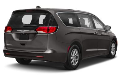 3/4 Rear Glamour  2018 Chrysler Pacifica