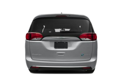 Rear Profile  2018 Chrysler Pacifica Hybrid