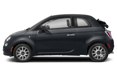 90 Degree Profile 2017 FIAT 500c