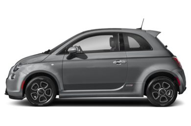 90 Degree Profile 2017 FIAT 500e