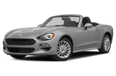 3/4 Front Glamour 2018 FIAT 124 Spider