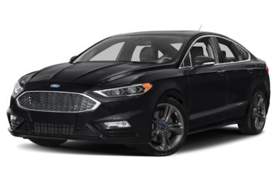 3/4 Front Glamour 2017 Ford Fusion