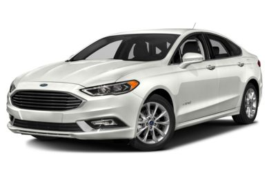 3/4 Front Glamour 2018 Ford Fusion Hybrid
