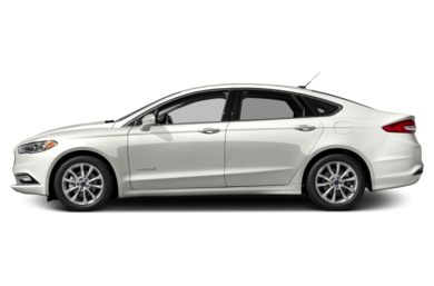 90 Degree Profile 2018 Ford Fusion Hybrid