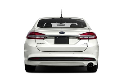 Rear Profile  2018 Ford Fusion Hybrid