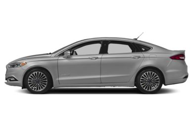 90 Degree Profile 2017 Ford Fusion Hybrid