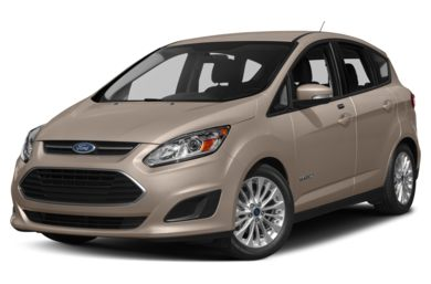 3/4 Front Glamour 2017 Ford C-Max Hybrid