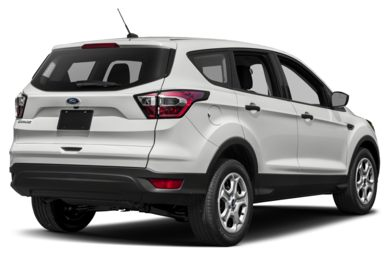 3/4 Rear Glamour  2017 Ford Escape