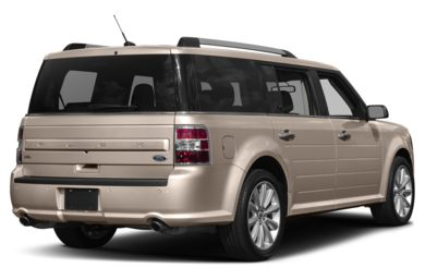 3/4 Rear Glamour  2018 Ford Flex