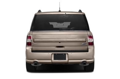 Rear Profile  2018 Ford Flex