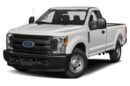 3/4 Front Glamour 2017 Ford F-350