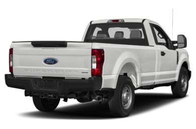 3/4 Rear Glamour  2017 Ford F-350