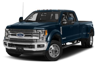 3/4 Front Glamour 2018 Ford F-450