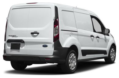 3/4 Rear Glamour  2018 Ford Transit Connect