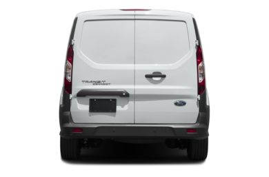 Rear Profile  2018 Ford Transit Connect