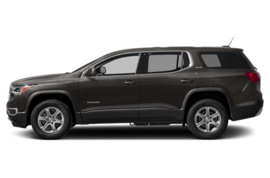 90 Degree Profile 2017 GMC Acadia