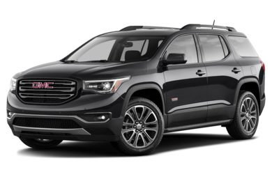 3/4 Front Glamour 2017 GMC Acadia