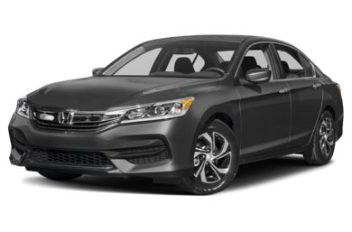3/4 Front Glamour 2017 Honda Accord