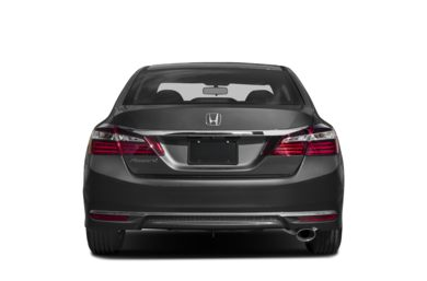 Rear Profile  2017 Honda Accord