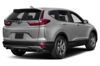 3/4 Rear Glamour  2017 Honda CR-V