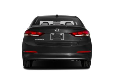 Rear Profile  2017 Hyundai Elantra