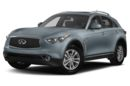 3/4 Front Glamour 2017 INFINITI QX70