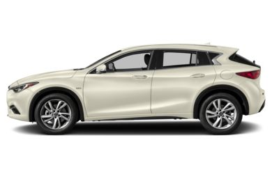 90 Degree Profile 2017 Infiniti QX30