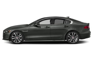 90 Degree Profile 2018 Jaguar XE