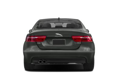 Rear Profile  2018 Jaguar XE