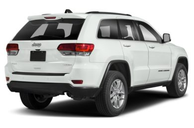 3/4 Rear Glamour  2018 Jeep Grand Cherokee
