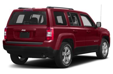 3/4 Rear Glamour  2017 Jeep Patriot