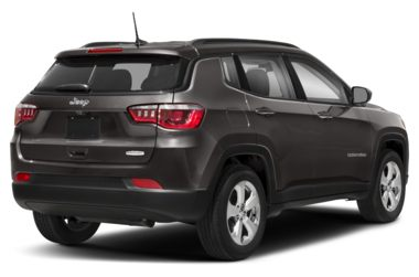 3/4 Rear Glamour  2018 Jeep Compass