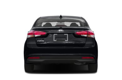 Rear Profile  2017 Kia Forte
