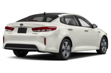 3/4 Rear Glamour  2018 Kia Optima Hybrid