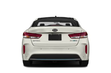 Rear Profile  2017 Kia Optima Plug-In Hybrid
