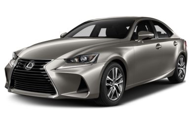 3/4 Front Glamour 2017 Lexus IS 300