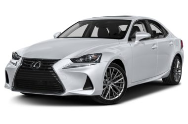 3/4 Front Glamour 2017 Lexus IS 200t