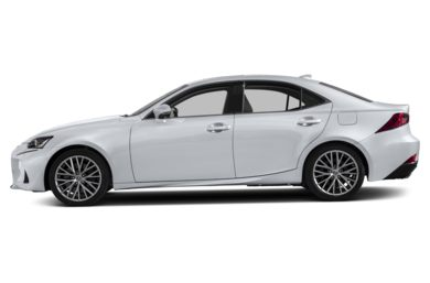 90 Degree Profile 2017 Lexus IS 200t