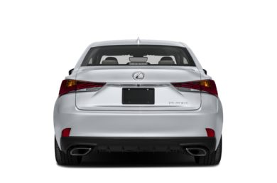 Rear Profile  2017 Lexus IS 200t