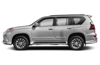 90 Degree Profile 2017 Lexus GX 460