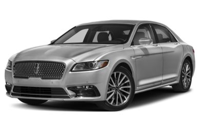 3/4 Front Glamour 2017 Lincoln Continental