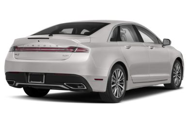 3/4 Rear Glamour  2018 Lincoln MKZ Hybrid