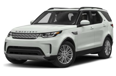 3/4 Front Glamour 2017 Land Rover Discovery
