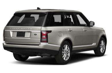 3/4 Rear Glamour  2017 Land Rover Range Rover