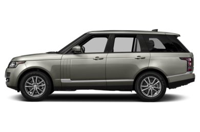 90 Degree Profile 2017 Land Rover Range Rover