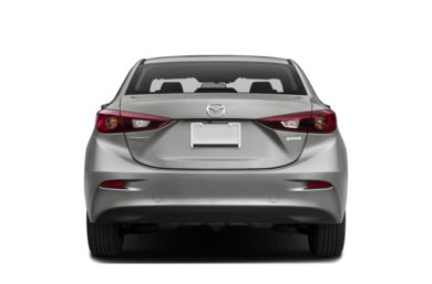 Rear Profile  2017 Mazda Mazda3