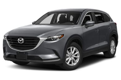 3/4 Front Glamour 2017 Mazda CX-9