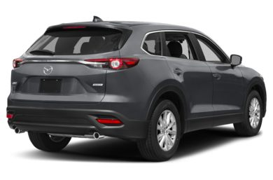 3/4 Rear Glamour  2017 Mazda CX-9