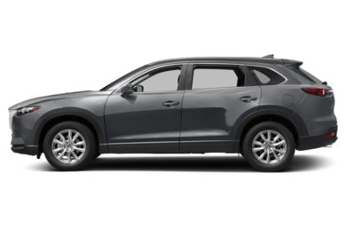 90 Degree Profile 2017 Mazda CX-9