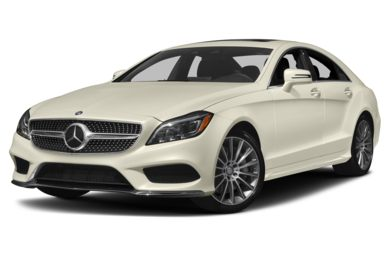 3/4 Front Glamour 2017 Mercedes-Benz CLS550